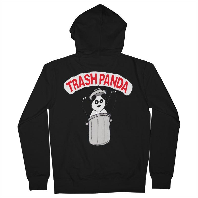 Trash Panda Women's Zip-Up Hoody by Reef Musallam's Artist Shop