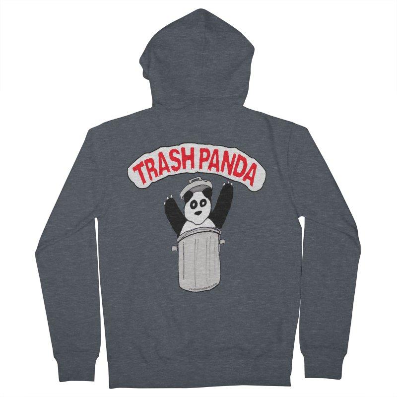 Trash Panda Men's Zip-Up Hoody by Reef Musallam's Artist Shop