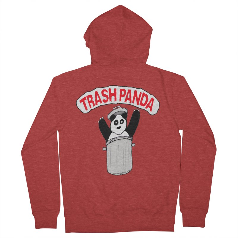 Trash Panda Men's Zip-Up Hoody by Reef Musallam's Artist Shop