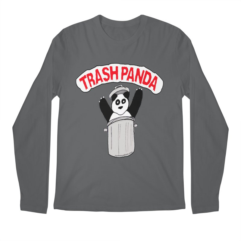 Trash Panda Men's Longsleeve T-Shirt by Reef Musallam's Artist Shop