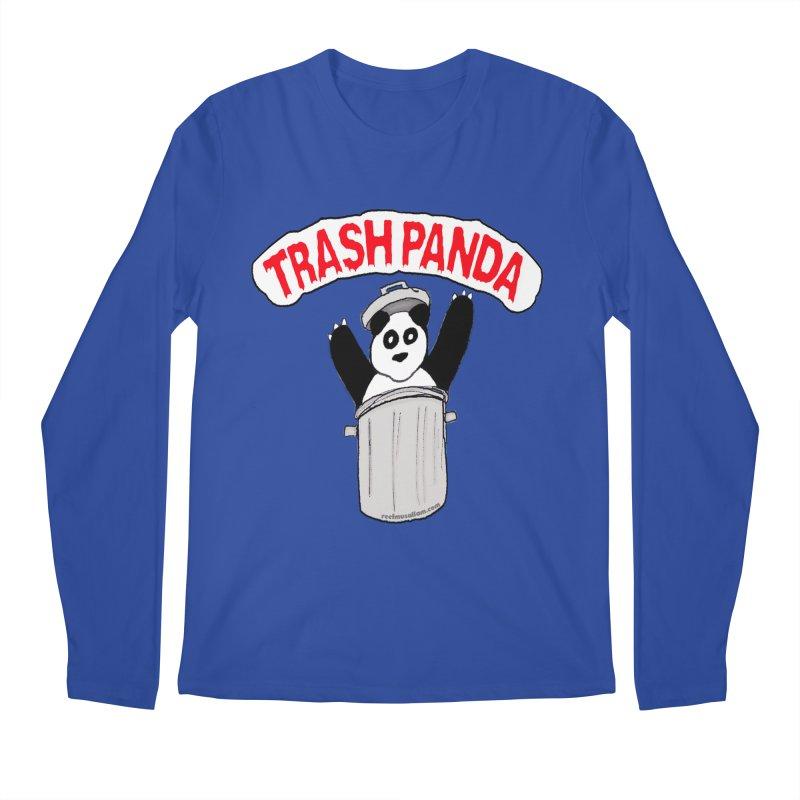 Trash Panda Men's Longsleeve T-Shirt by Reef Musallam's Artist Shop