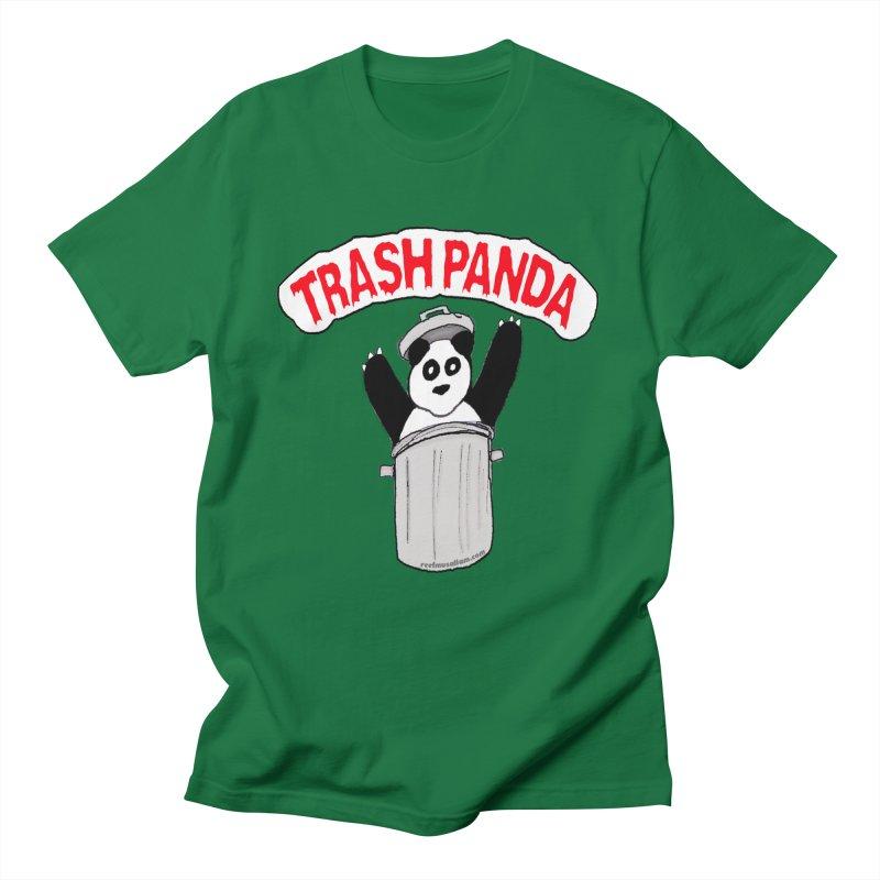 Trash Panda Men's T-Shirt by Reef Musallam's Artist Shop