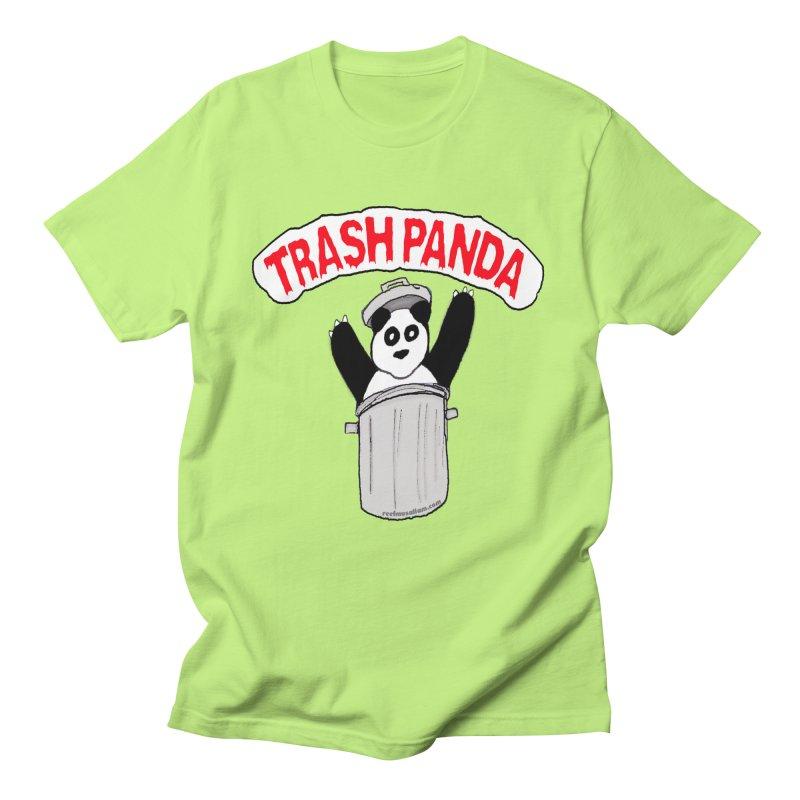 Trash Panda Men's Regular T-Shirt by Reef Musallam's Artist Shop