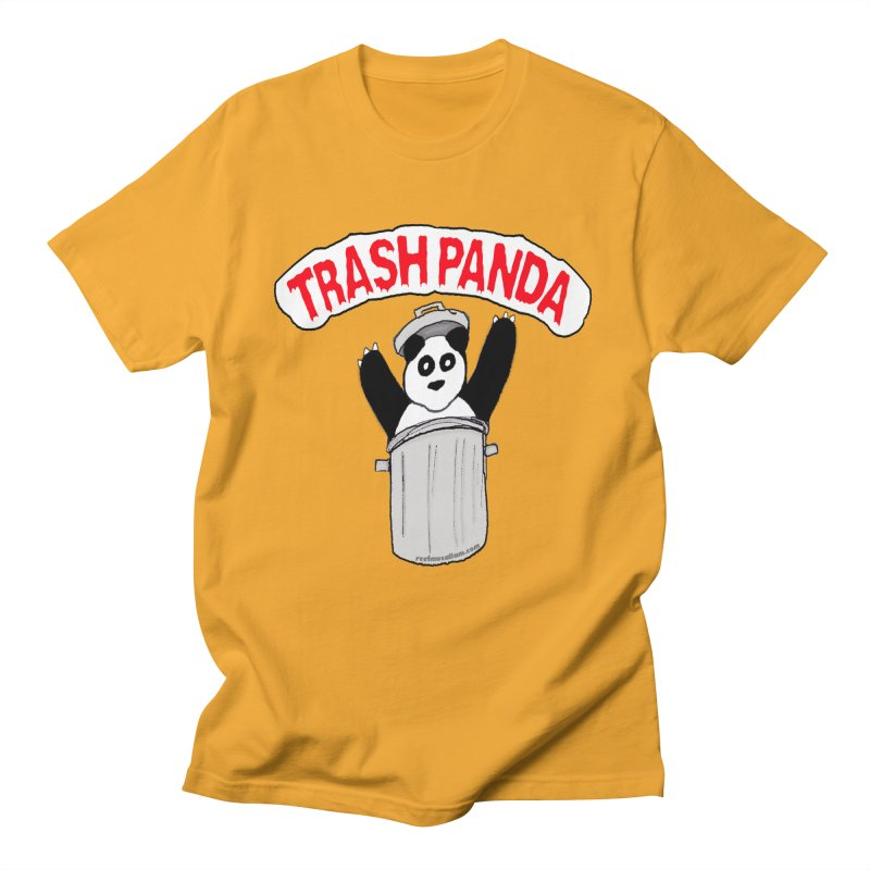 Trash Panda Men's T-Shirt by Reef Musallam's Artist Shop