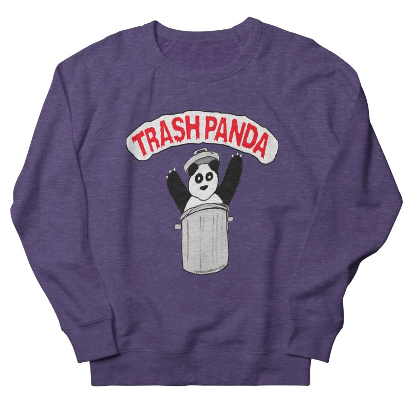Trash Panda Women's Sweatshirt by Reef Musallam's Artist Shop
