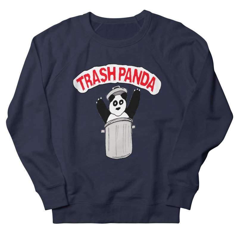 Trash Panda Men's French Terry Sweatshirt by Reef Musallam's Artist Shop