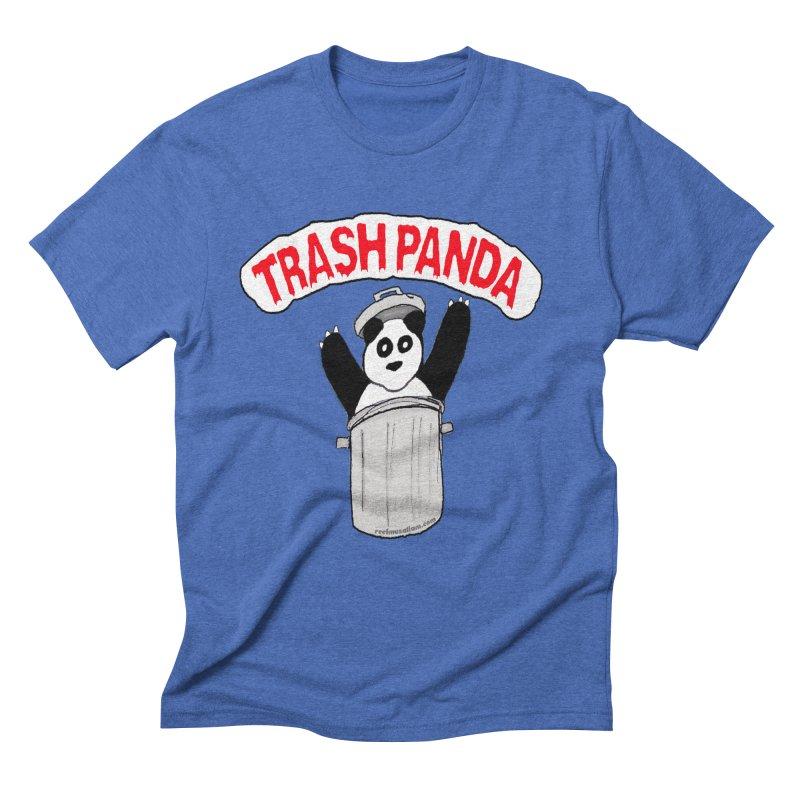 Trash Panda Men's Triblend T-Shirt by Reef Musallam's Artist Shop