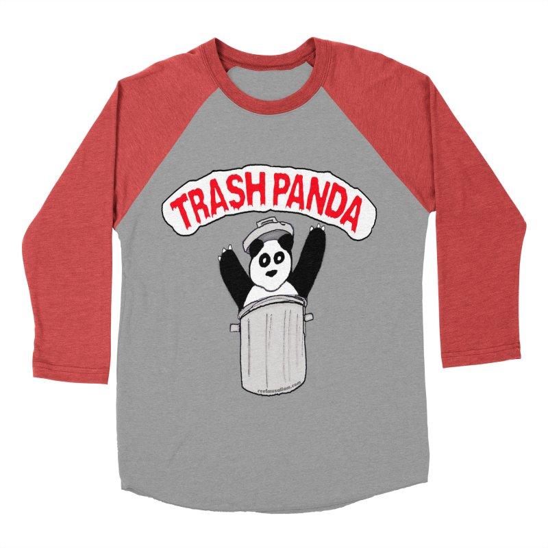 Trash Panda Men's Baseball Triblend T-Shirt by Reef Musallam's Artist Shop