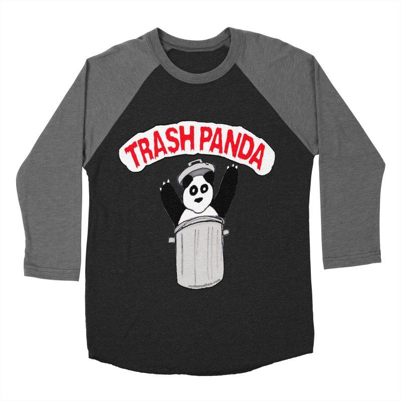 Trash Panda Men's Baseball Triblend Longsleeve T-Shirt by Reef Musallam's Artist Shop