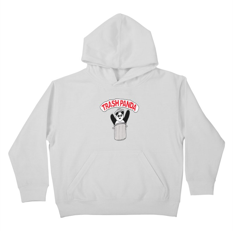 Trash Panda Kids Pullover Hoody by Reef Musallam's Artist Shop