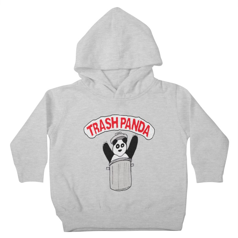 Trash Panda Kids Toddler Pullover Hoody by Reef Musallam's Artist Shop