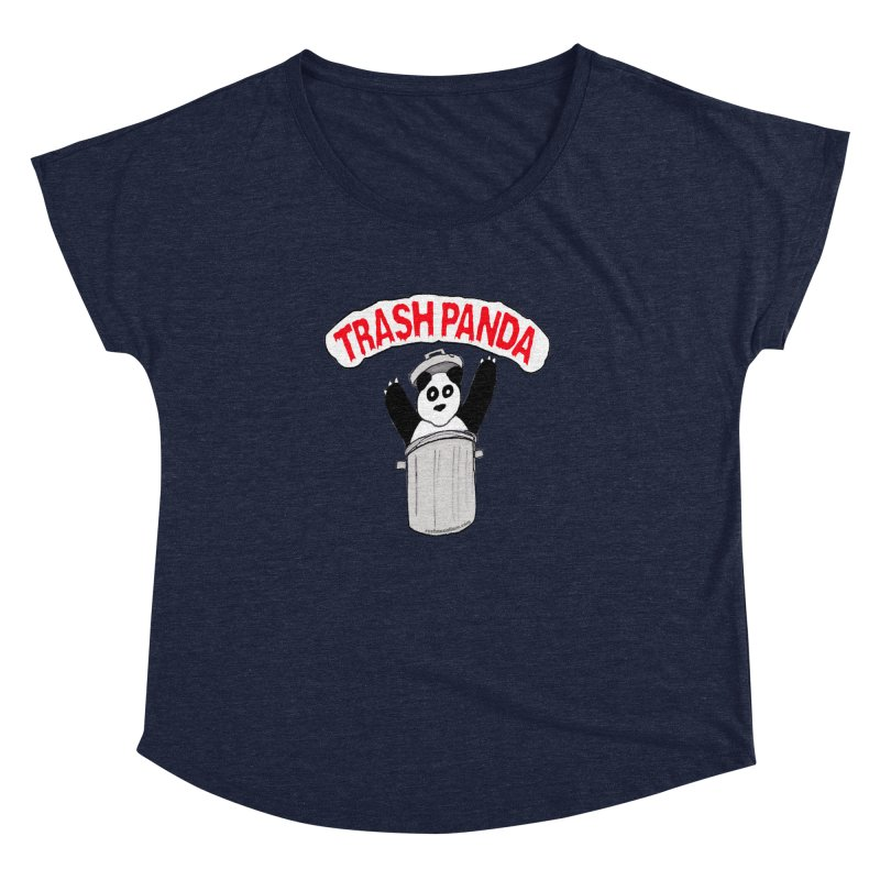 Trash Panda Women's Dolman by Reef Musallam's Artist Shop