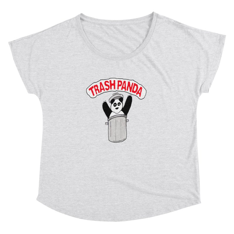 Trash Panda Women's Dolman by Reef Musallam's Artist Shop