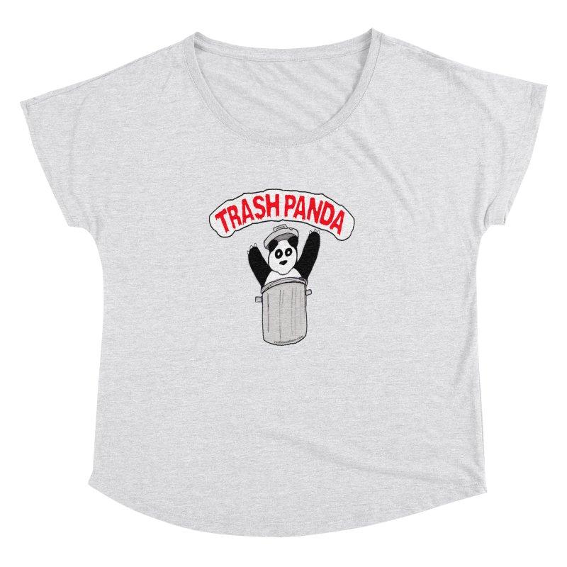 Trash Panda Women's Dolman Scoop Neck by Reef Musallam's Artist Shop