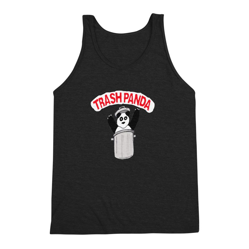 Trash Panda Men's Triblend Tank by Reef Musallam's Artist Shop