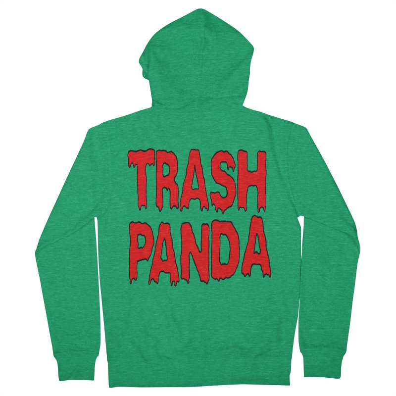 I'm A Trash Panda Men's Zip-Up Hoody by Reef Musallam's Artist Shop