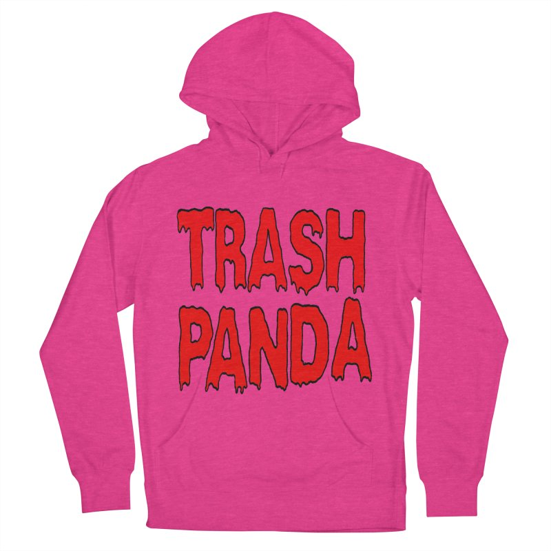 I'm A Trash Panda Men's French Terry Pullover Hoody by Reef Musallam's Artist Shop