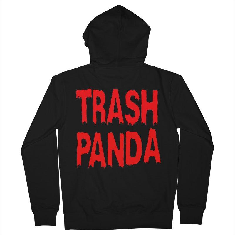 I'm A Trash Panda Men's Zip-Up Hoody by Reef Musallam's Artist Shop