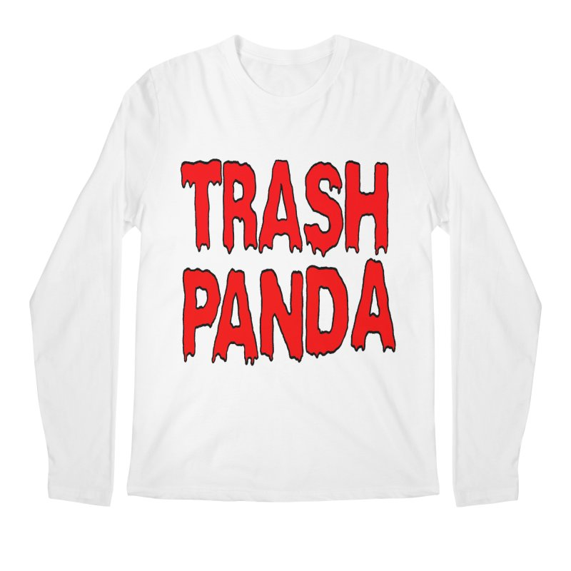I'm A Trash Panda Men's Longsleeve T-Shirt by Reef Musallam's Artist Shop