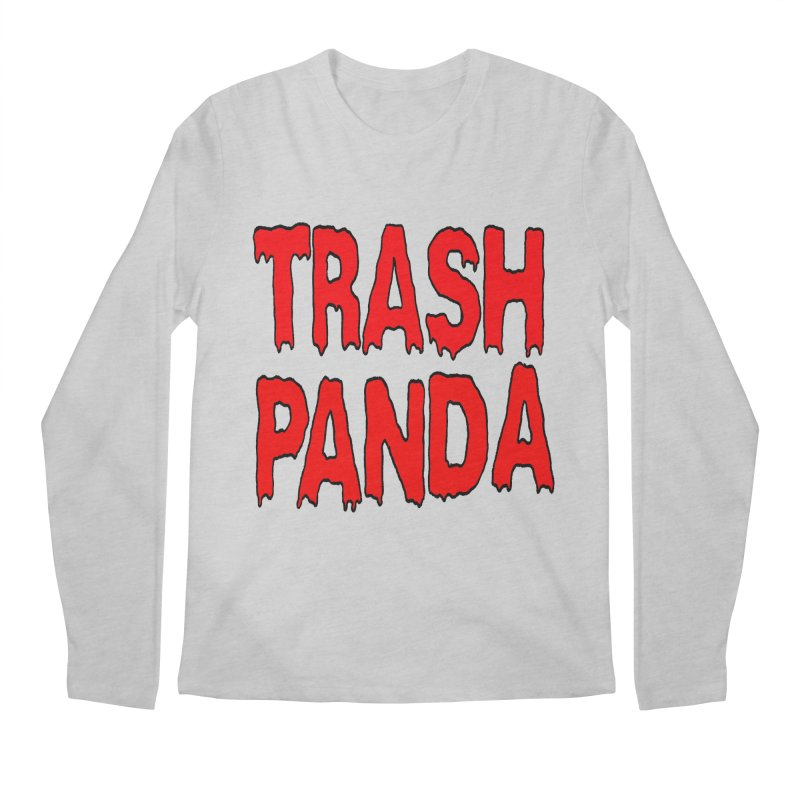 I'm A Trash Panda Men's Longsleeve T-Shirt by Reef Musallam's Artist Shop