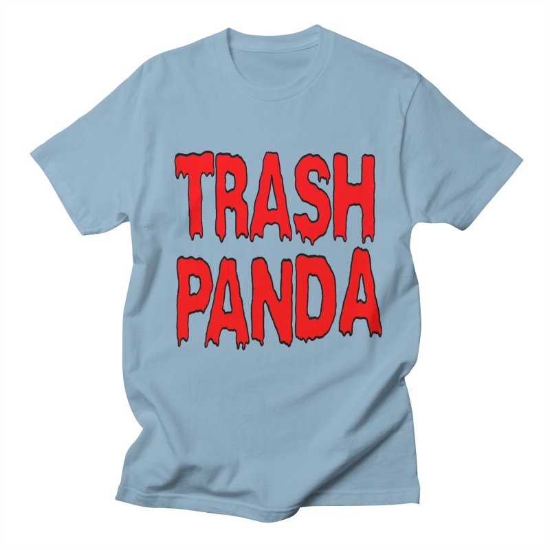 I'm A Trash Panda Men's Regular T-Shirt by Reef Musallam's Artist Shop
