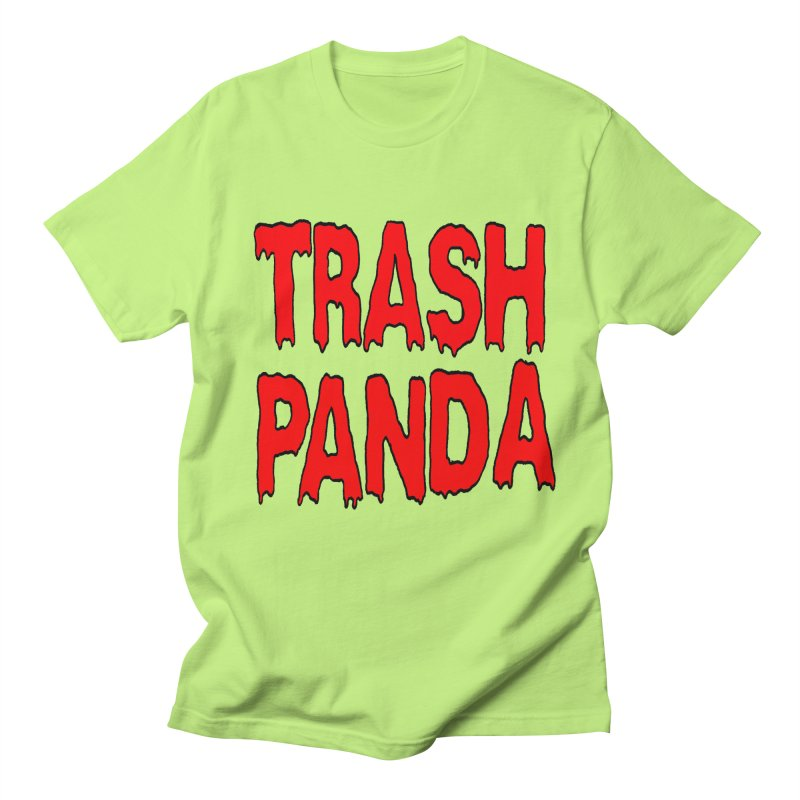 I'm A Trash Panda Men's T-shirt by Reef Musallam's Artist Shop