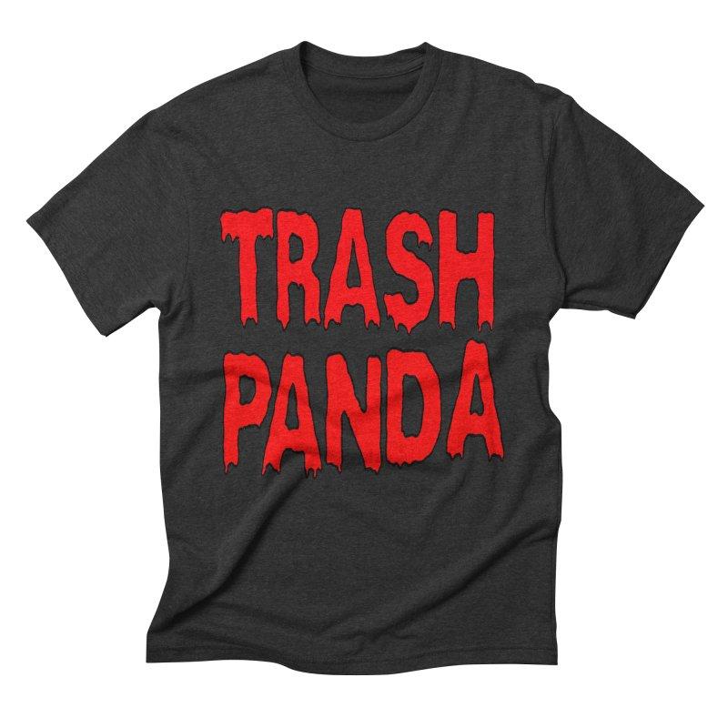 I'm A Trash Panda Men's Triblend T-Shirt by Reef Musallam's Artist Shop