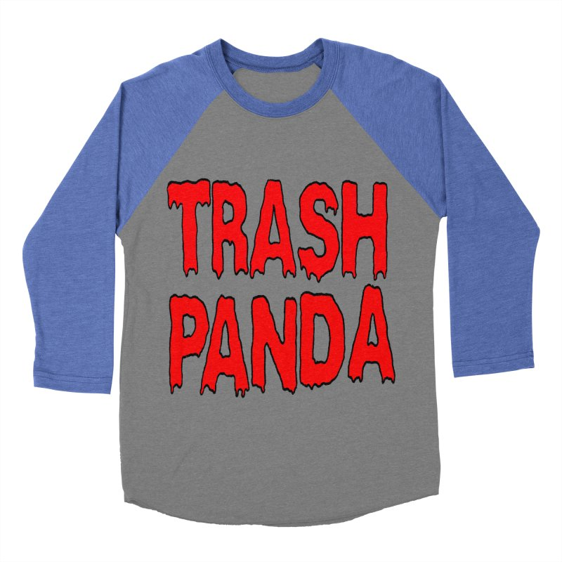 I'm A Trash Panda Women's Baseball Triblend T-Shirt by Reef Musallam's Artist Shop