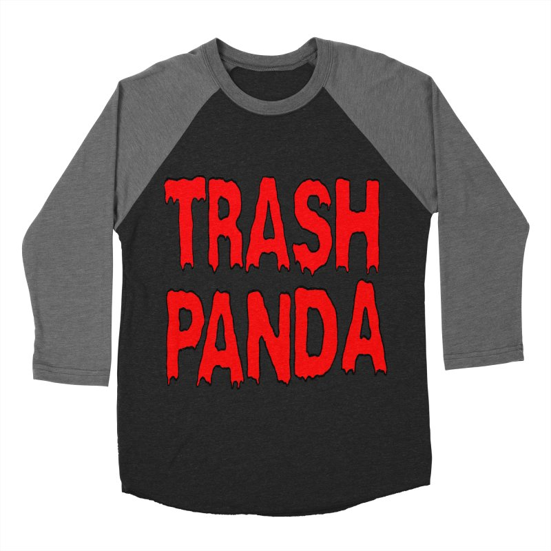 I'm A Trash Panda Men's Baseball Triblend Longsleeve T-Shirt by Reef Musallam's Artist Shop