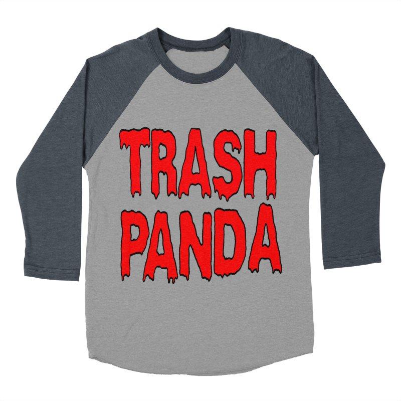 I'm A Trash Panda Men's Baseball Triblend T-Shirt by Reef Musallam's Artist Shop