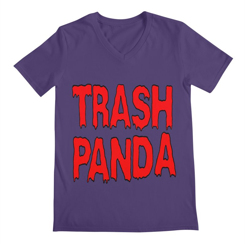 I'm A Trash Panda Men's V-Neck by Reef Musallam's Artist Shop