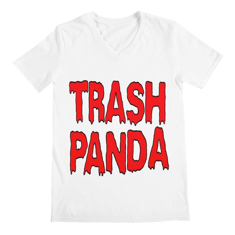 I'm A Trash Panda Men's V-Neck by Reef Musallam's Artist Shop