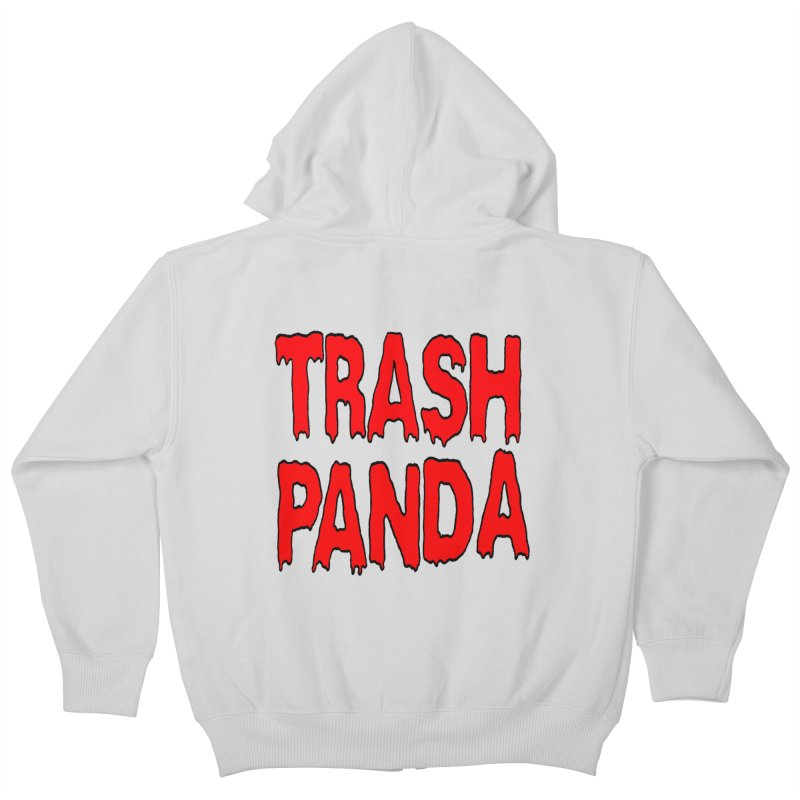 I'm A Trash Panda Kids Zip-Up Hoody by Reef Musallam's Artist Shop