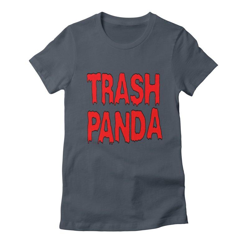 I'm A Trash Panda Women's T-Shirt by Reef Musallam's Artist Shop