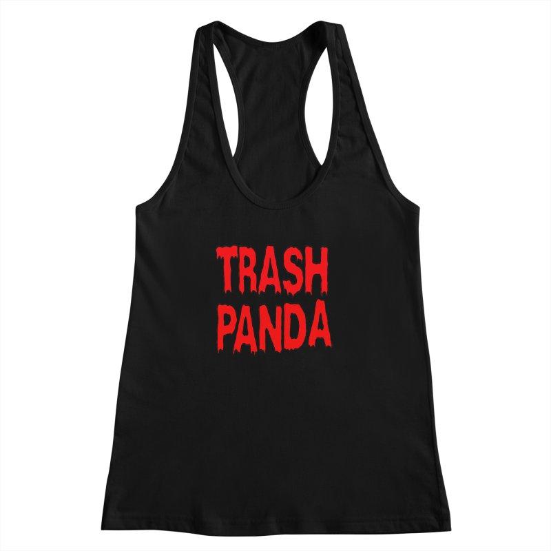 I'm A Trash Panda Women's Racerback Tank by Reef Musallam's Artist Shop