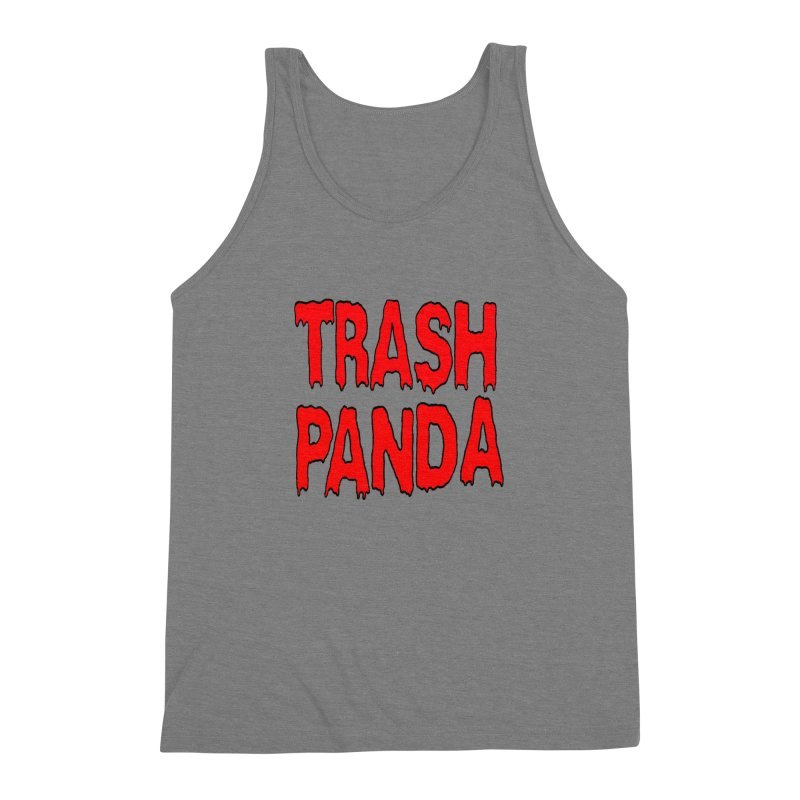 I'm A Trash Panda Men's Triblend Tank by Reef Musallam's Artist Shop