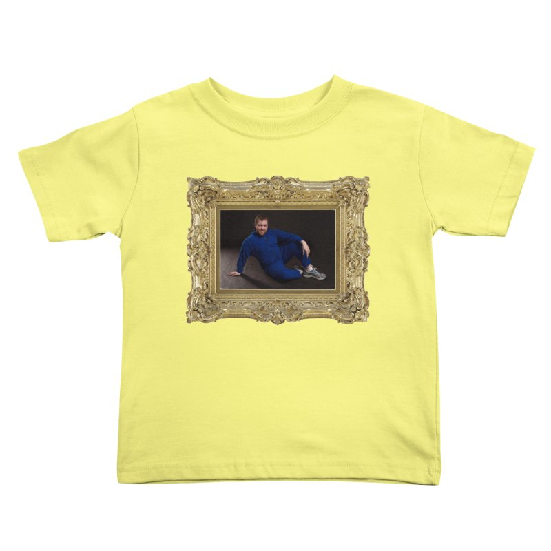 The Masterpiece. Kids Toddler T-Shirt by reelgenuine's Artist Shop