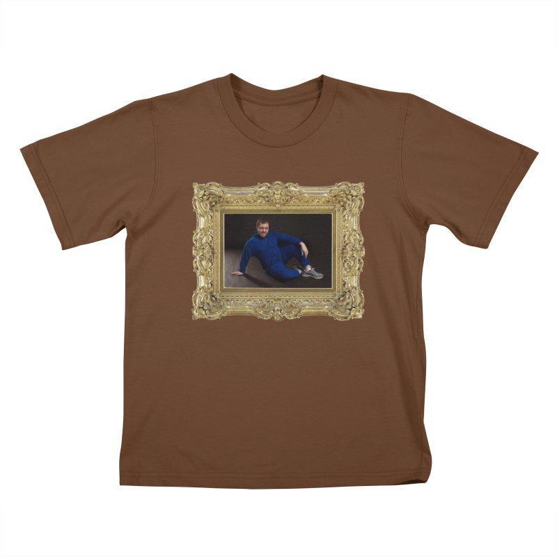 The Masterpiece. Kids T-shirt by reelgenuine's Artist Shop
