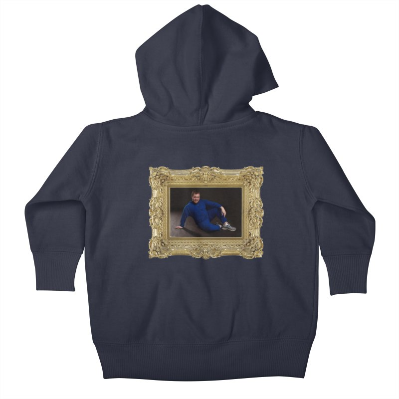 The Masterpiece. Kids Baby Zip-Up Hoody by reelgenuine's Artist Shop