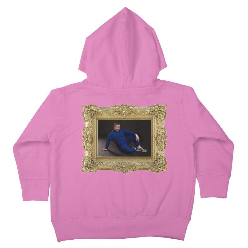 The Masterpiece. Kids Toddler Zip-Up Hoody by reelgenuine's Artist Shop