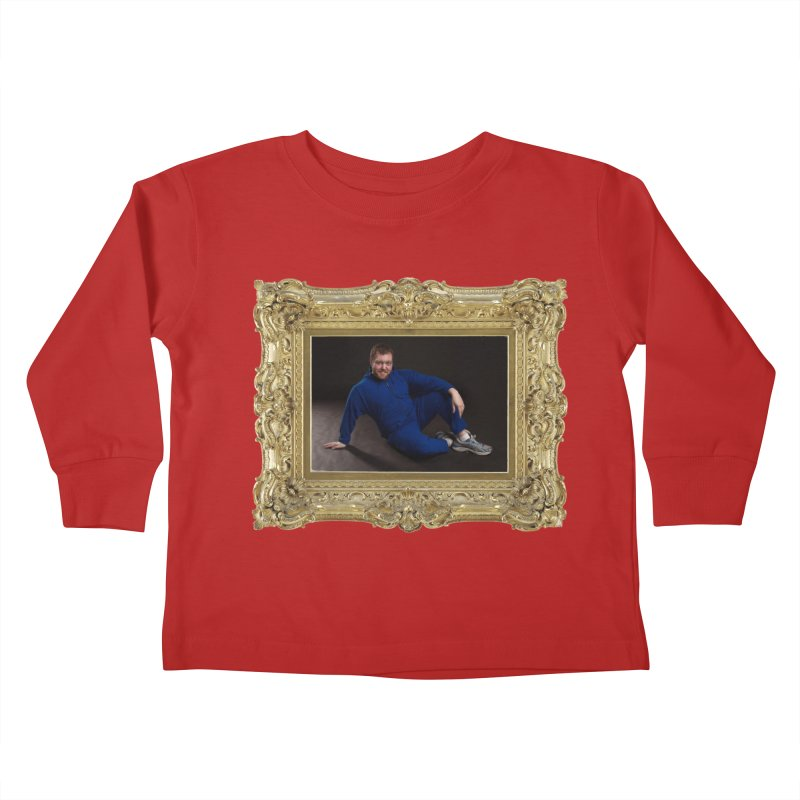 The Masterpiece. Kids Toddler Longsleeve T-Shirt by reelgenuine's Artist Shop