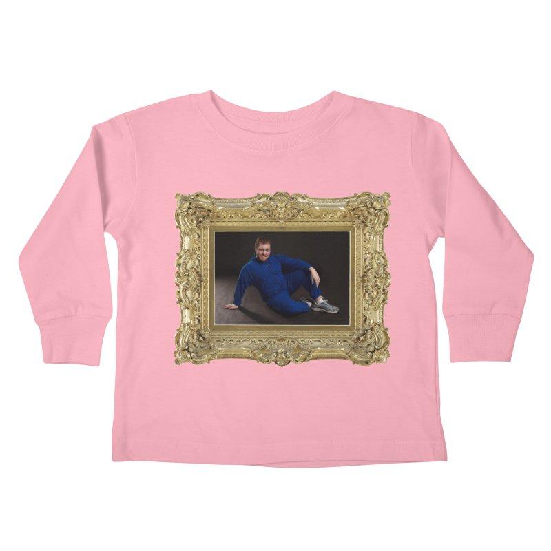 The Masterpiece. Kids Toddler Longsleeve T-Shirt by reelgenuine's Artist Shop