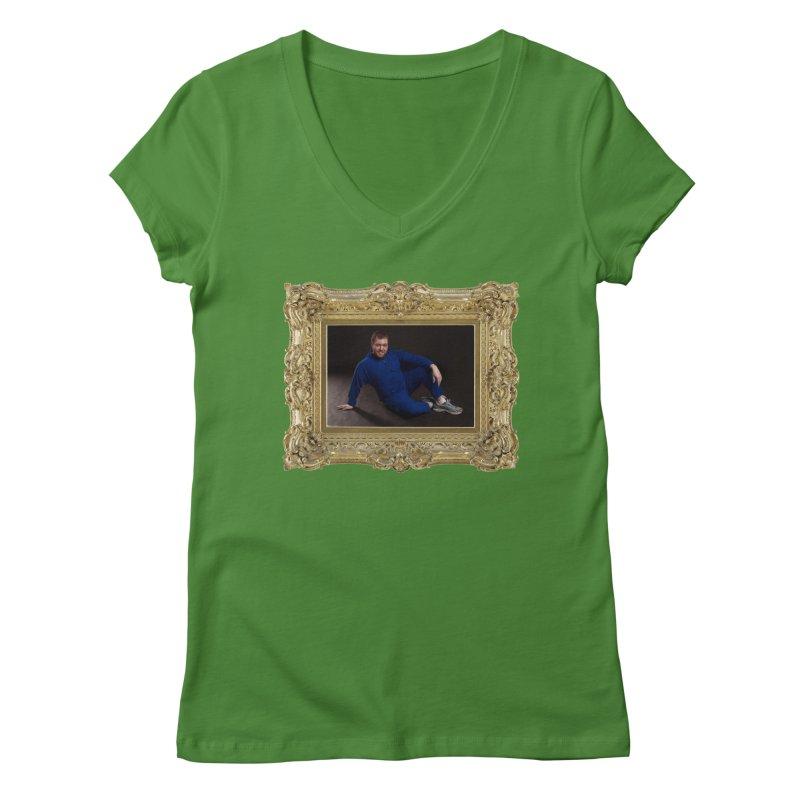 The Masterpiece. Women's V-Neck by reelgenuine's Artist Shop