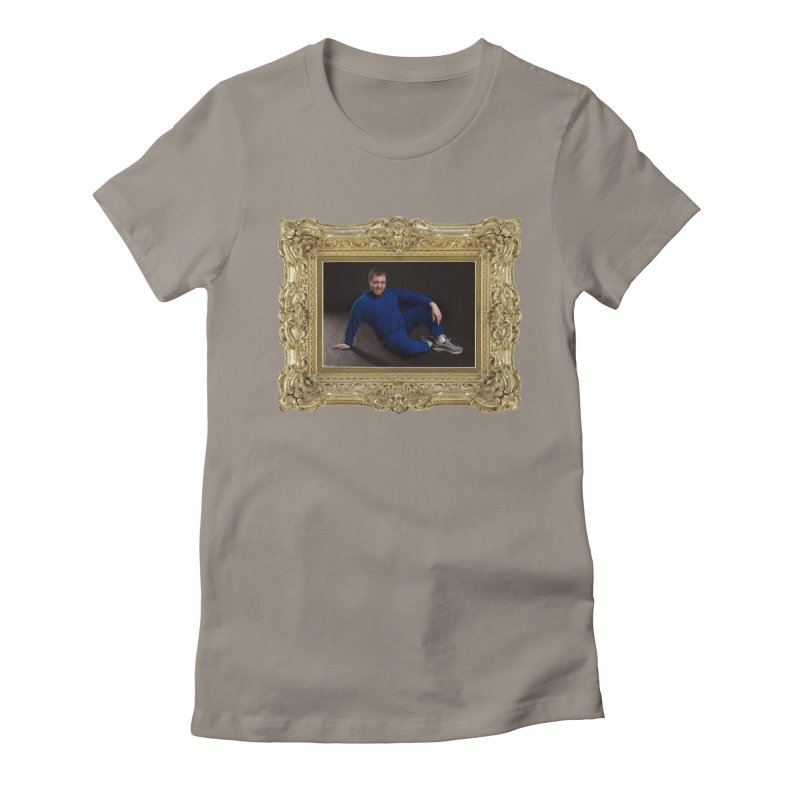 The Masterpiece. Women's Fitted T-Shirt by reelgenuine's Artist Shop