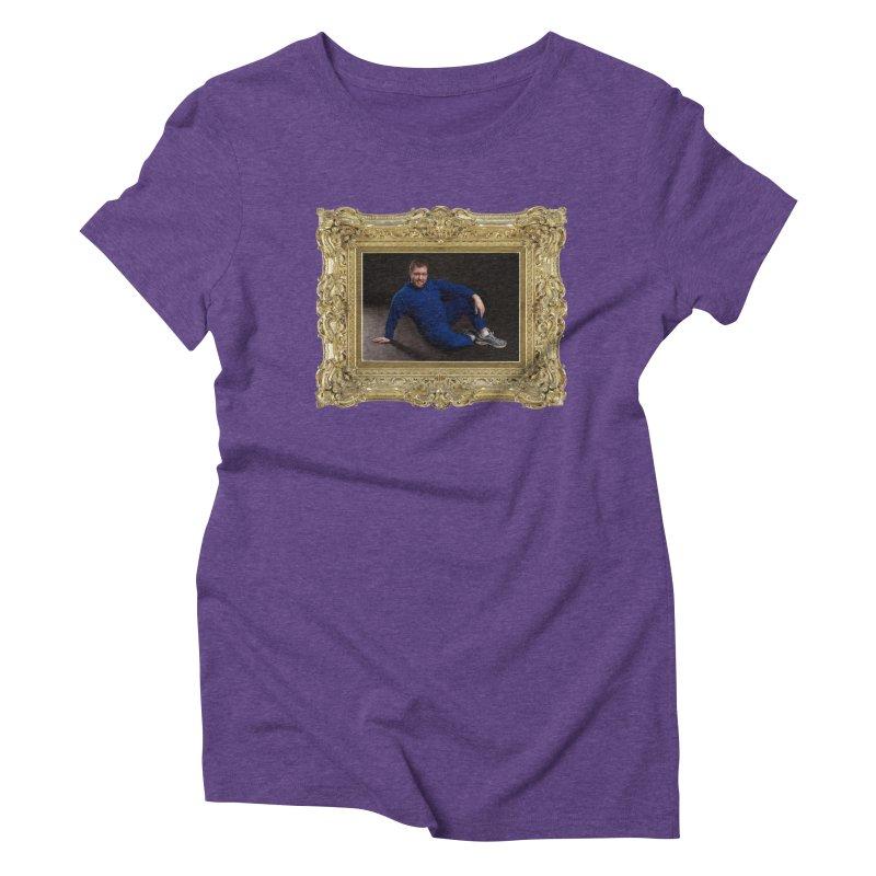 The Masterpiece. Women's Triblend T-shirt by reelgenuine's Artist Shop