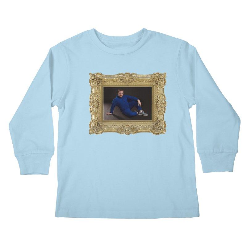 The Masterpiece. Kids Longsleeve T-Shirt by reelgenuine's Artist Shop