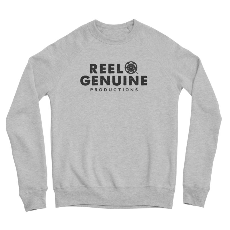 Reel Genuine Productions Logo Men's Sponge Fleece Sweatshirt by reelgenuine's Artist Shop