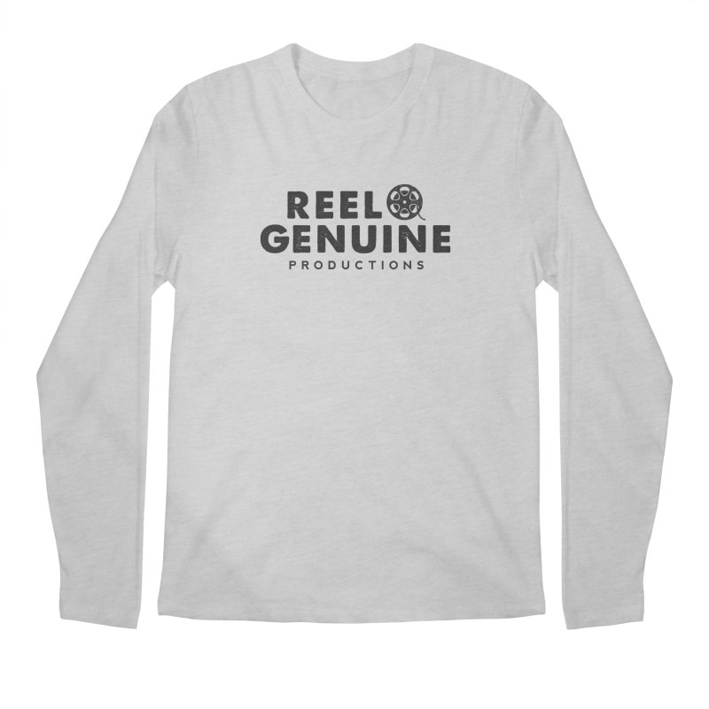 Reel Genuine Productions Logo Men's Longsleeve T-Shirt by reelgenuine's Artist Shop