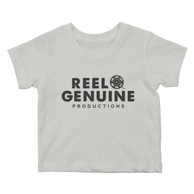 Reel Genuine Productions Logo Kids Baby T-Shirt by reelgenuine's Artist Shop