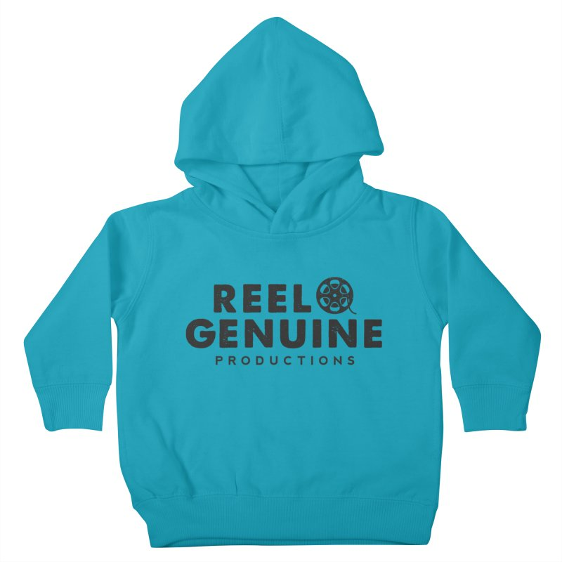 Reel Genuine Productions Logo Kids Toddler Pullover Hoody by reelgenuine's Artist Shop